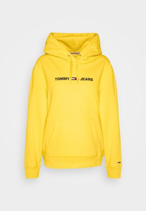 LINEAR LOGO - Hoodie - star fruit yellow