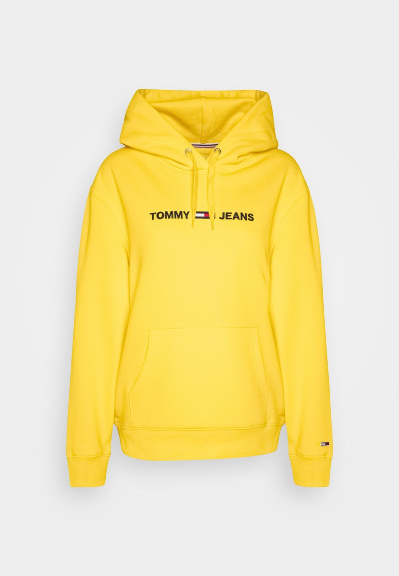 Tommy Jeans - LINEAR LOGO - Hoodie - star fruit yellow