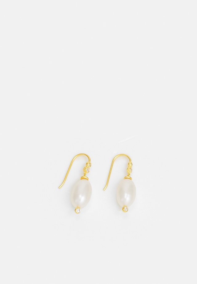 EARRINGS - Øreringe - white