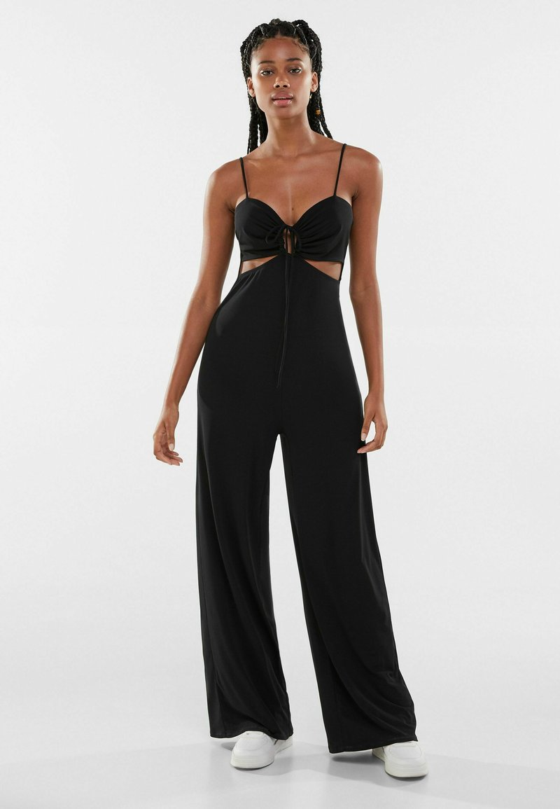 Bershka - Overall / Jumpsuit - black