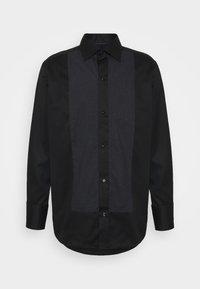 Eton - CONTEMPORARY GLITTER FRONT SHIRT - Shirt - black - 0