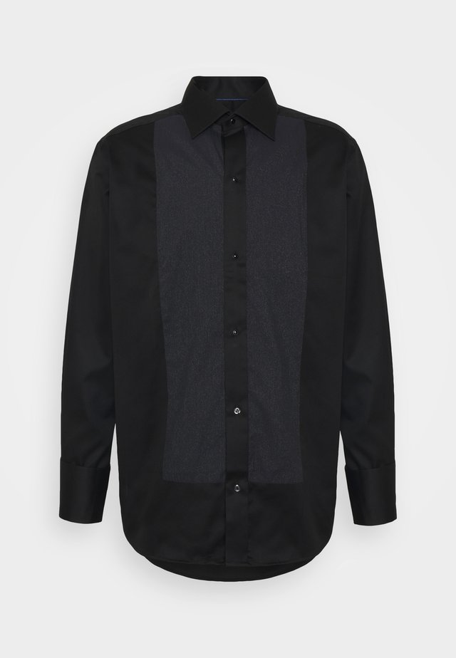 CONTEMPORARY GLITTER FRONT SHIRT - Camicia - black