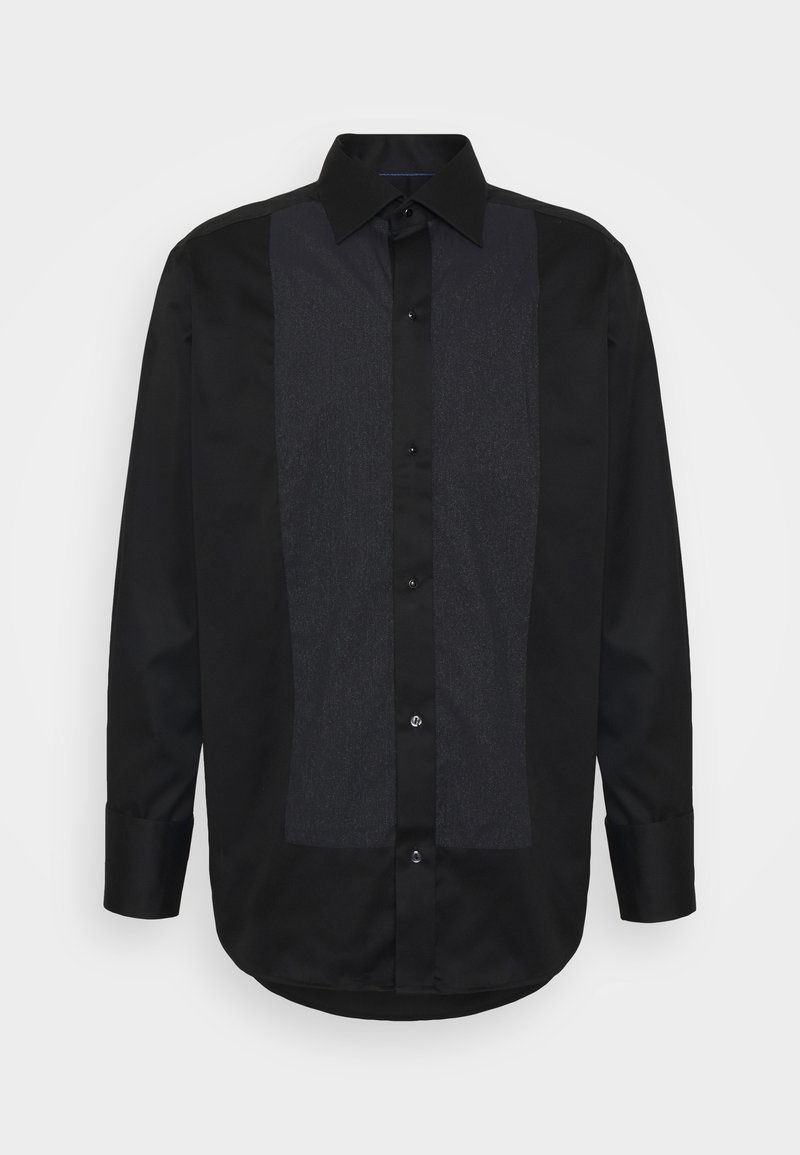 Eton - CONTEMPORARY GLITTER FRONT SHIRT - Shirt - black