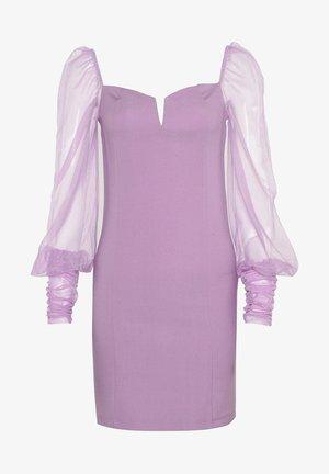 Robe fourreau - purple