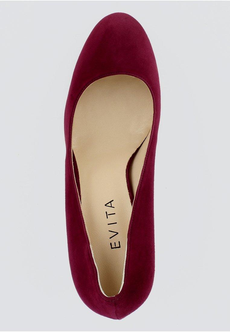 Evita Bianca - Pumps Bordeaux