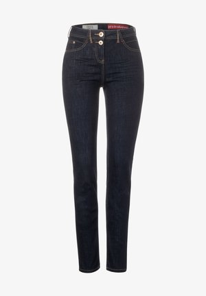REPREVE - MIT HIGH WAIST - Slim fit jeans - blau