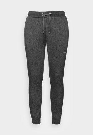 MARC PANTS - Tracksuit bottoms - dark grey melange