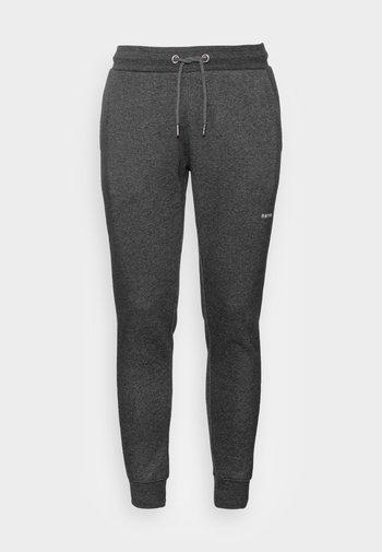 MARC PANTS - Joggebukse - dark grey melange