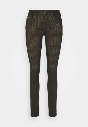 TOUCH STRETCH - Trousers - gold
