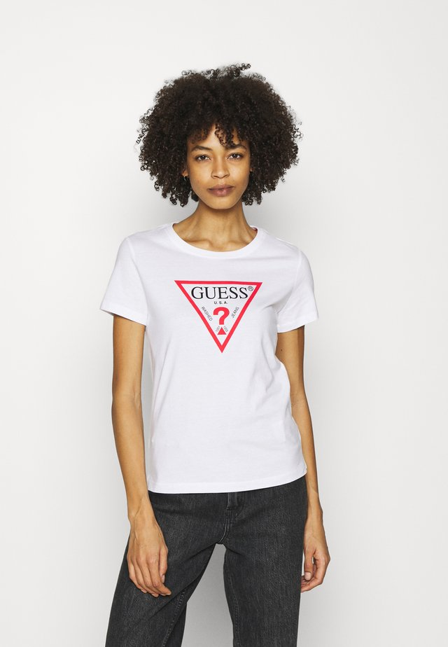 ORIGINAL - T-shirt z nadrukiem - true white