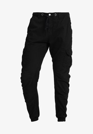 JOGGING PANT - Pantalon cargo - black