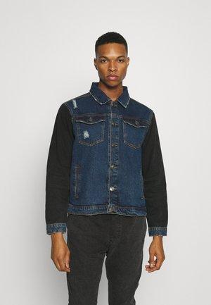 NAMANE - Denim jacket - mid blue denim