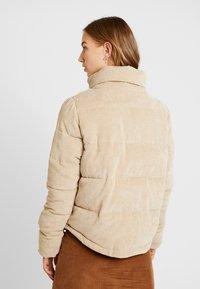 ONLY - ONLCOLE PADDED JACKET - Winter jacket - beige - 2