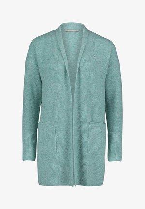Cardigan - middle turquoise melange