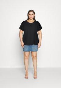 Nike Sportswear - TEE PLUS - Basic T-shirt - black - 1