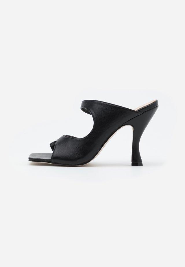 NINA - Sandalias de tacón - black
