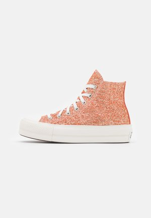 CHUCK TAYLOR ALL STAR LIFT - Sneakers alte - healing clay/light gold/vintage white