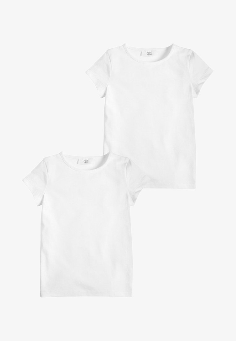 Next - 2 PACK  - Basic T-shirt - white
