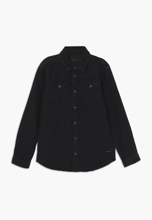 EASY WESTERN WITH SEASONAL DETAILS - Košile - black denim