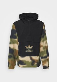 adidas Originals - CAMO WINDBREAKR - Summer jacket - hemp/multco/black - 4