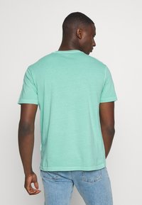 American Eagle - BUTLER TEE EMBROIDERY - Basic T-shirt - mint - 2