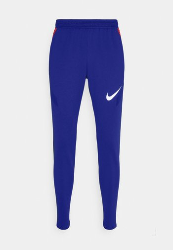 DRY STRIKE PANT - Pantaloni sportivi - deep royal blue/dark beetroot/white
