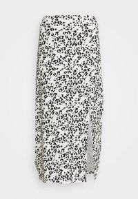 Falda de tubo - white/black