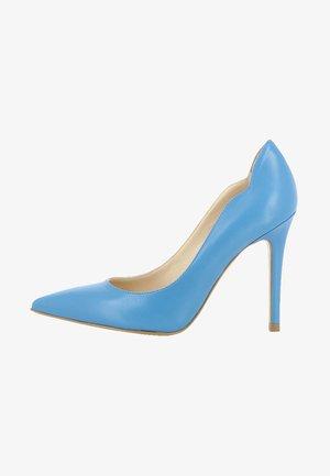 ALINA - Zapatos altos - blue