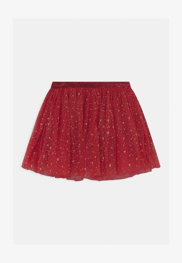 NINNA - Mini skirt - rio red