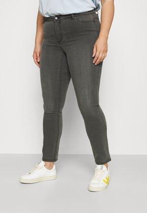 VMMANYA - Slim fit jeans - dark grey denim