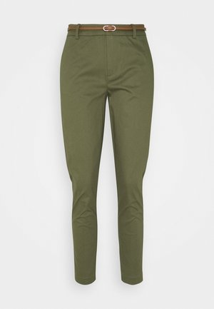 DAYS CIGARET PANTS  - Chinos - olive night