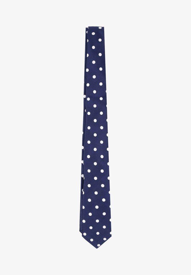 DOTS - Cravate - navy
