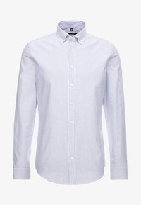 SMART BUSINESS SLIM FIT - Shirt - llight blue/white