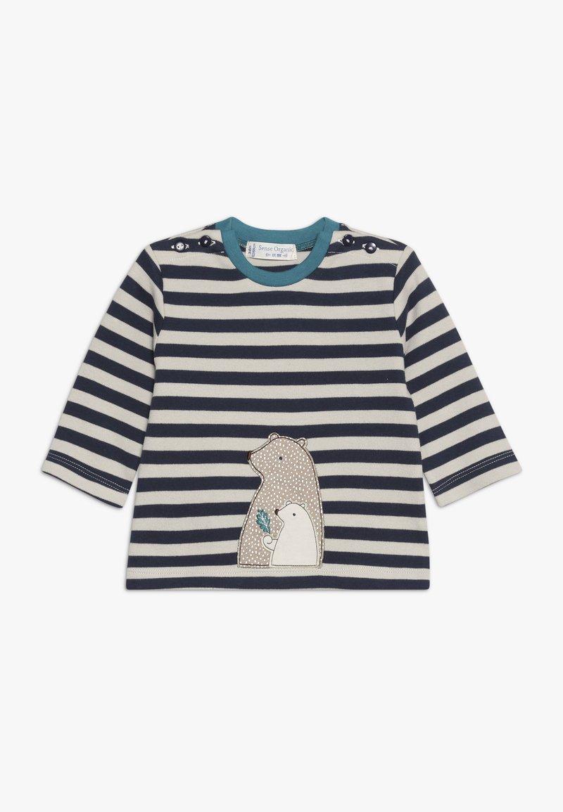 Sense Organics - ELAN BABY - Långärmad tröja - navy/beige