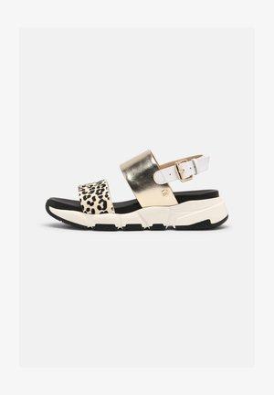 DETROIT - Sandals - blanco