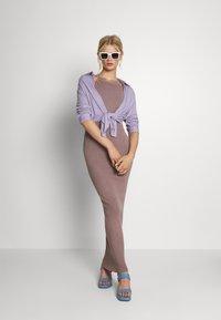 Missguided - HALTER DRESS - Maxi dress - mocha - 1