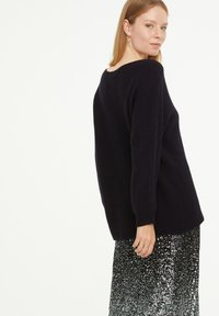 comma casual identity - LOOSE FIT - Jumper - marine - 2