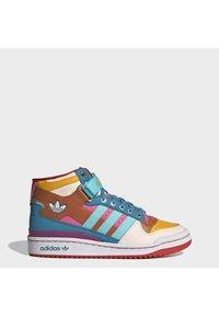 adidas Originals - FORUM MID ORIGINALS SNEAKERS SHOES - Zapatillas altas - pulse aqua/pink tint/sonic fuchsia - 1
