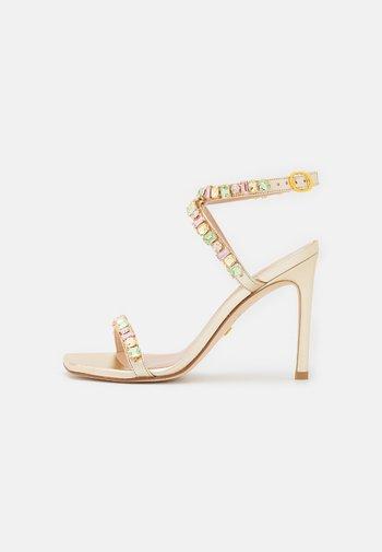 JAIDE  - Sandály na vysokém podpatku - platino