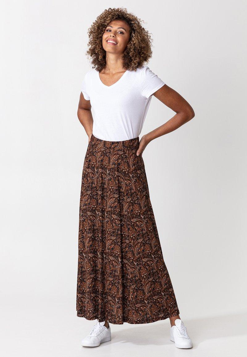 Indiska - OLIVARA - A-snit nederdel/ A-formede nederdele - multi