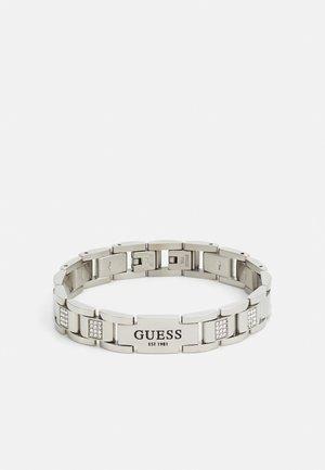 HERO FLAT PLATE UNISEX - Bracelet - silver-coloured