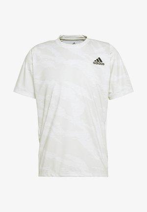 CAMO TEE - Print T-shirt - white