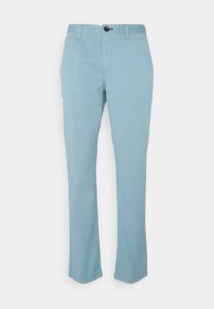 MENS MID FIT STITCHED - Chino - blue grey
