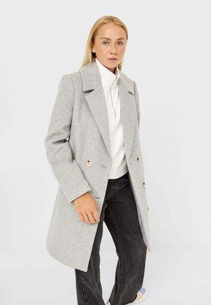 BASIC - Klasický kabát - grey