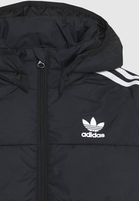 adidas Originals - PADDED JACKET - Winterjas - black/white - 3