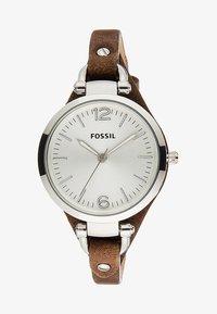 Fossil - GEORGIA - Horloge - dunkelbraun - 2