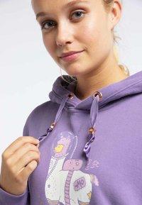 myMo - Hoodie - purple - 3