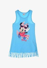 Mickey & Minnie - Jersey dress - blau - 0