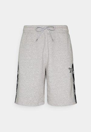 TAPE SHORT - Urheilushortsit - medium grey heather