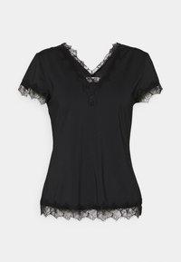 Rosemunde - Print T-shirt - black - 0